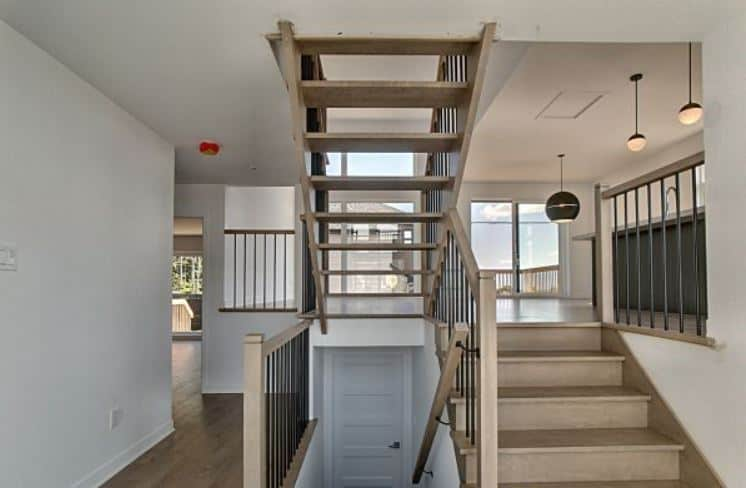 Escalier ouvert (standard)